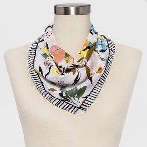 NWOT floral scarf square
